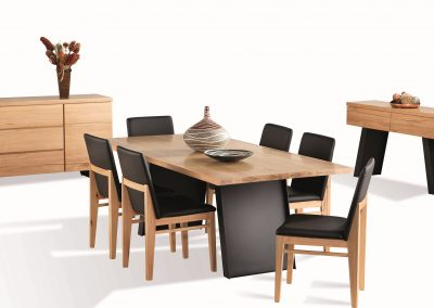 Atlantic 7pc Dining, Buffet & Hall Table (2)