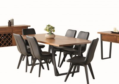 Meta 7pc Dining, Buffet & Hall Table (2)