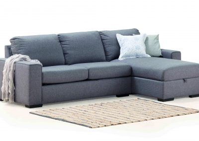 Oxford 3 Seater Chaise with Sofa Bed