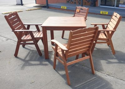 Prestige 5 Pc Outdoor with Club Chairs