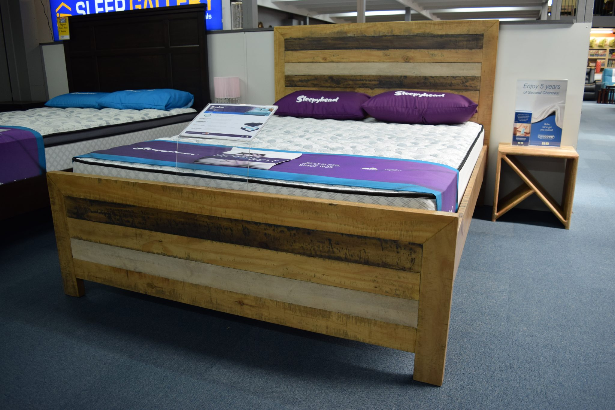 Kira Bed with Kim Bedsides