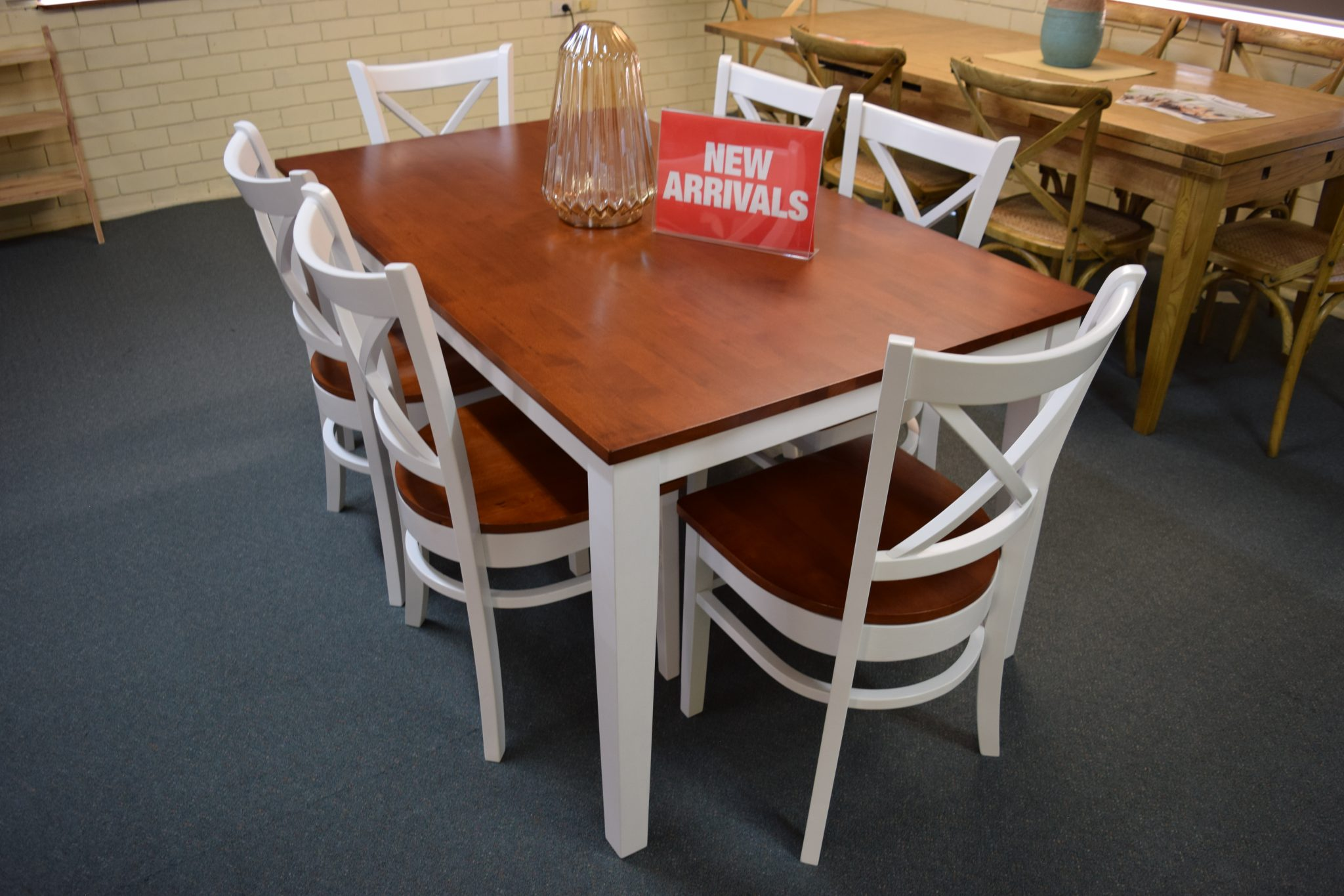 Crossback 7 Piece Dining